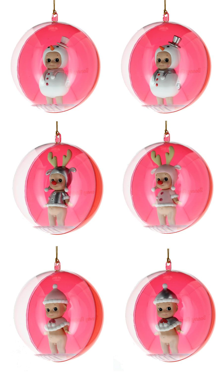 Boules de Noël   Sonny Angel   Boule de noel, Idées cadeaux, Idee