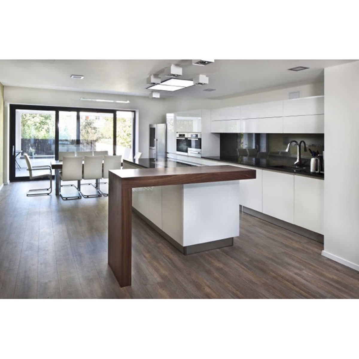 Kairos Imperial Luxury 16 5 Cm 6 5 In Embossed Vinyl Plank Flooring Modern Kitchen Island Design