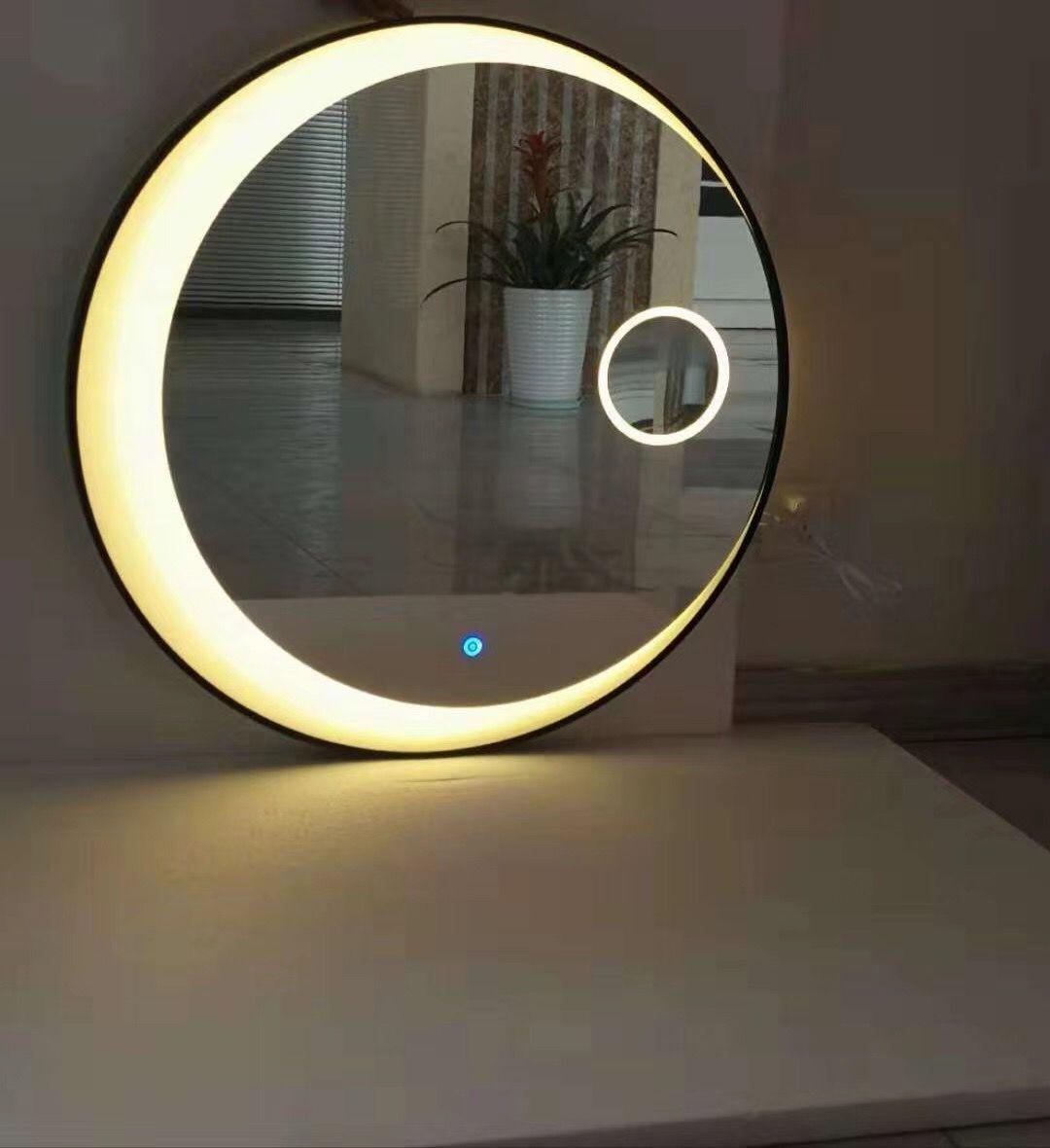 Round Led Mirror Maginify Mirror Bathroom Mirror