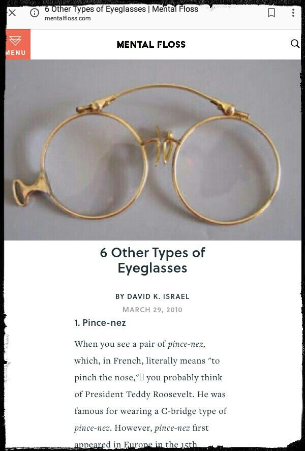 6 Other Types Of Eyeglasses  Eyeglasses, Type, Glasses-9806