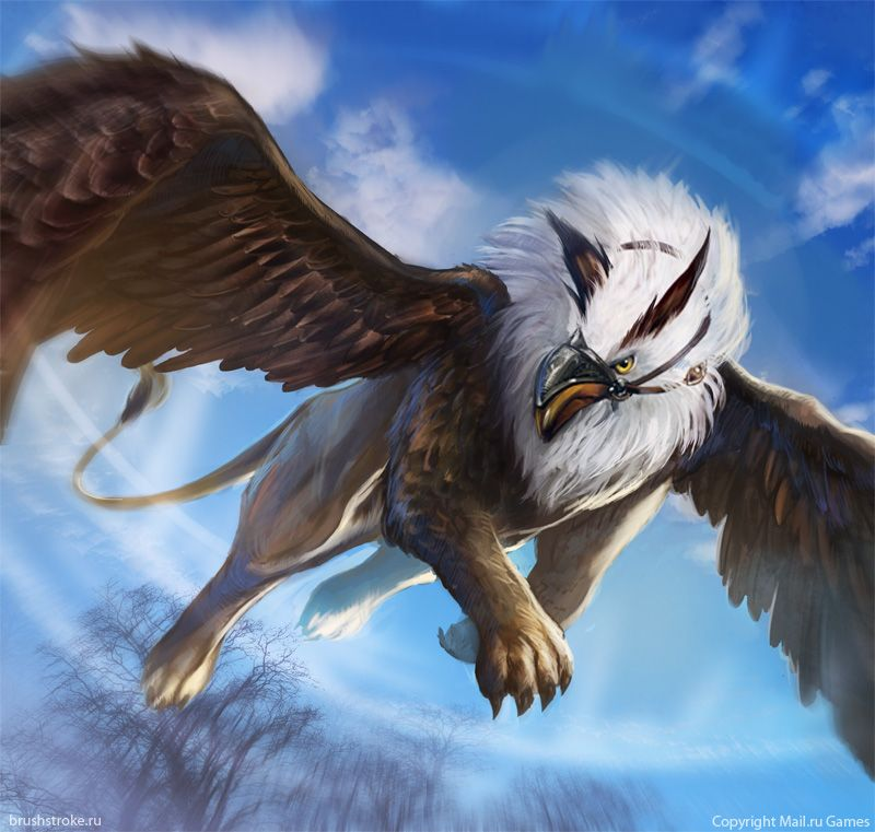 Griffin by applesin griffin magical creatures fantasy monster fantasy creatures - A picture of a griffin the creature ...