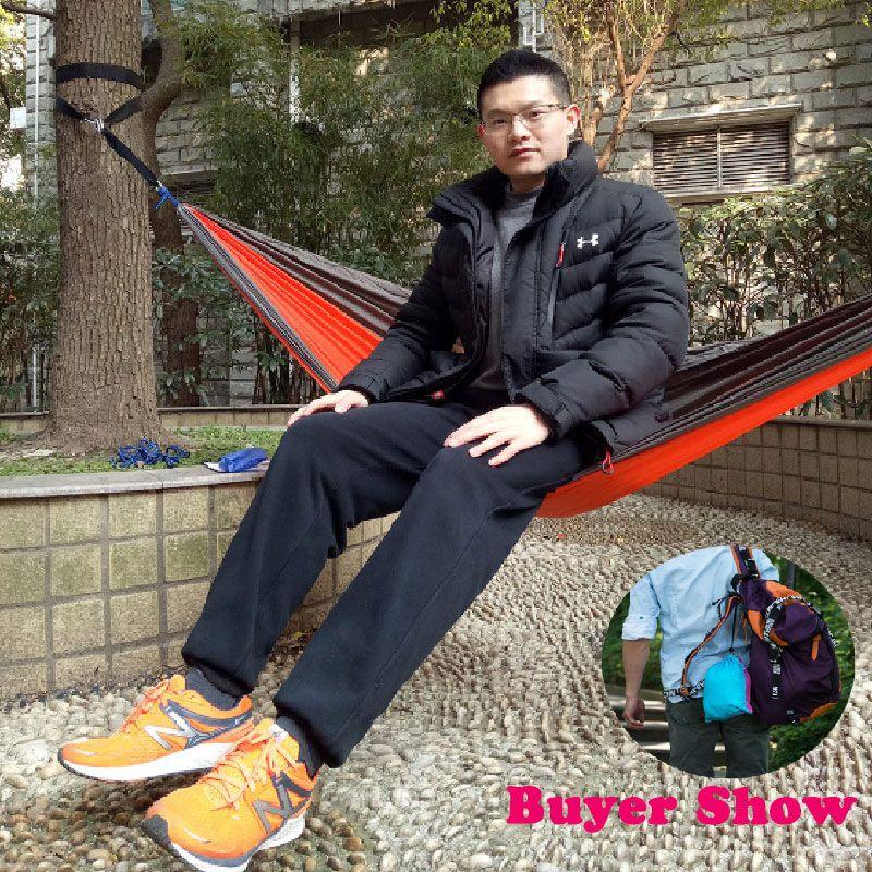 2017 hot Swing Cotton Sleeping Bags Sleeping Hammock Swing Bed Sleeping Tree Mesh Outdoor Camping Travel Single Use Free Shippin