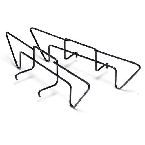 Weber brikettenrails voor de indirecte methode.