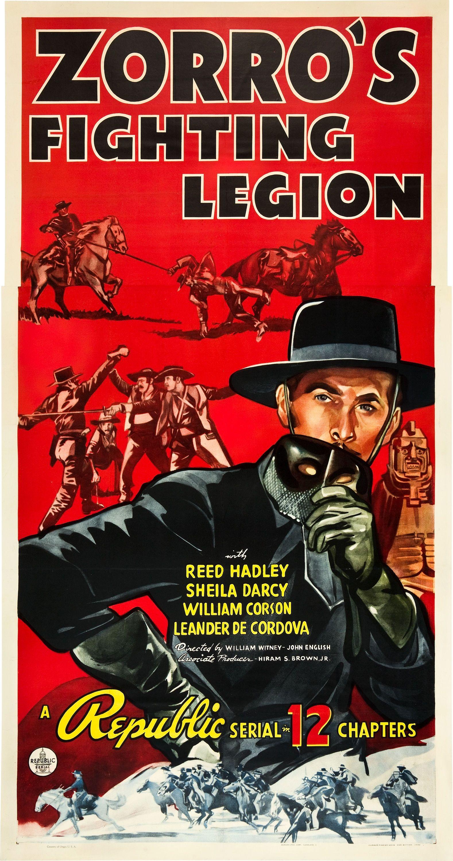 1939 Zorros Fighting Legion William Witney John English