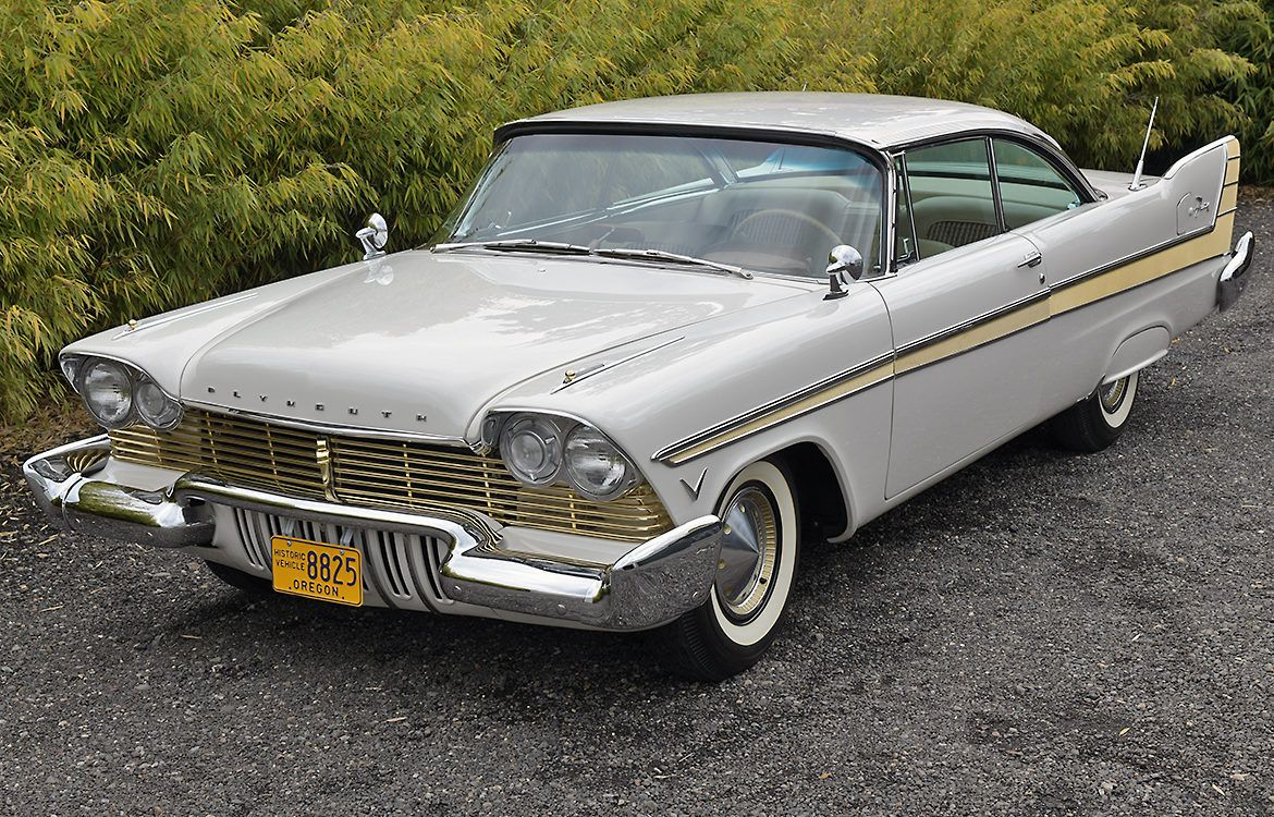 1957 Plymouth Fury in 2020 Plymouth fury, Plymouth