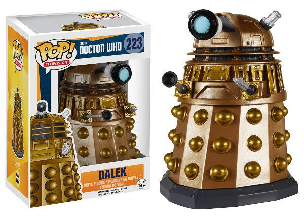funko dalek $10.99 Pre-Order for June 15th release, expected to sell out, pre-order recommended. Doctor Who toys merchandise gifts #doctorwho