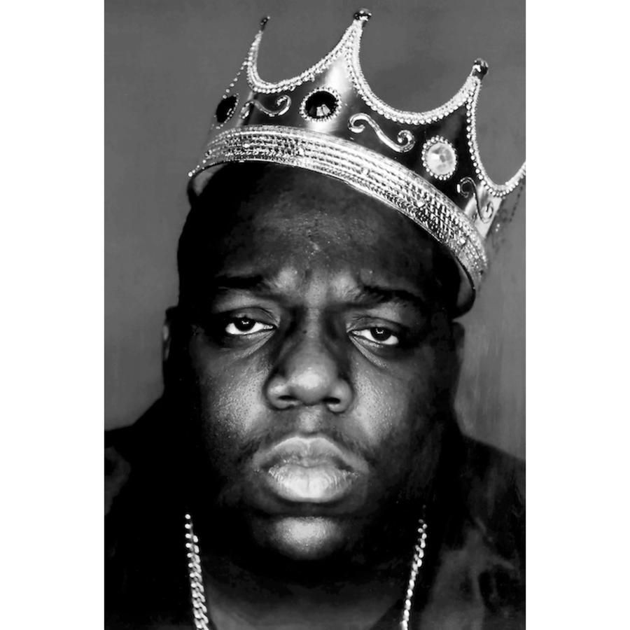 notorious b i g crown poster 24 x 36