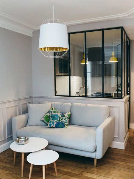 Un apartamento coqueto y funcional en la ciudad de la luz for Interni appartamenti parigini
