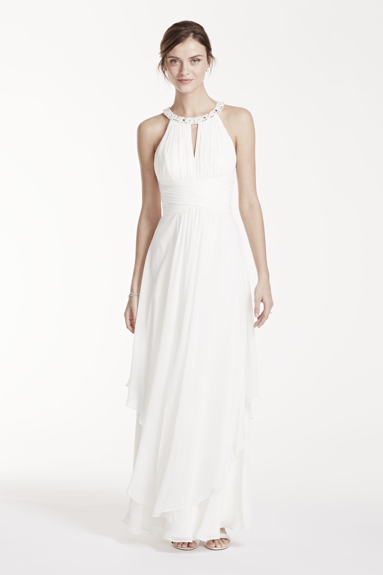 e7273b464cb32 Brooklyn's dress Davids Bridal Dresses, Informal Wedding Dresses, Casual  Wedding, Bridal Wedding Dresses