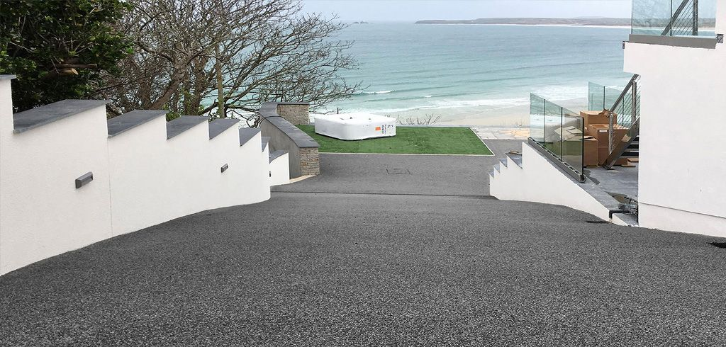 Oltco resin bound gravel driveways cornwall resin bound