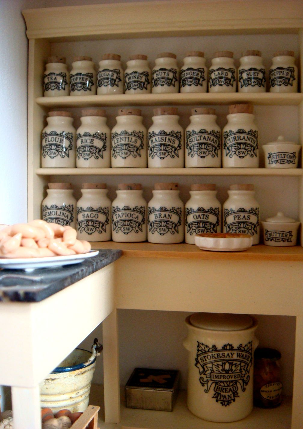 Stokesay Ware Stokesay Ware Dollhouse miniatures