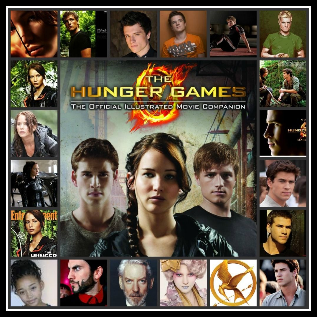 This is a collage that I made :) | Hunger games, Hunger ...