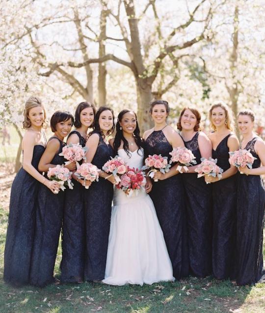 bridesmaid dress idea; featured photographer: Abby Jiu Photography