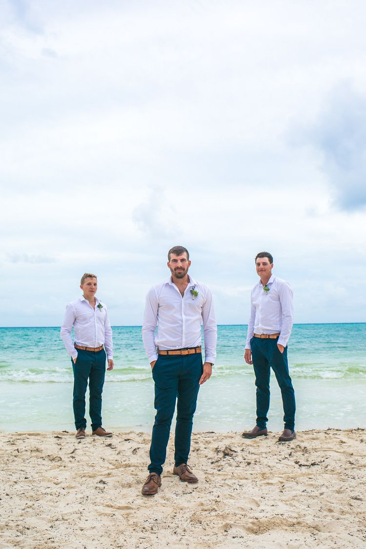 50 Stylish Destination Wedding Groom Attire Ideas Beach Wedding