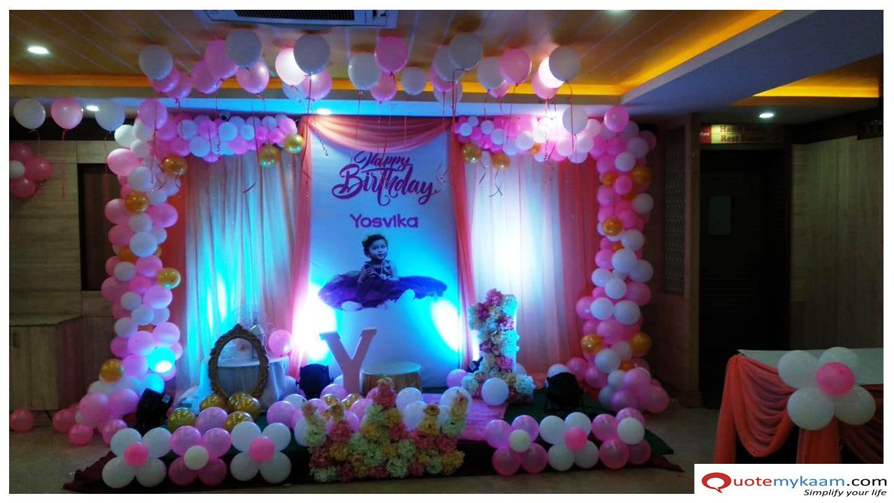 Party Hall Decoration Ideas For Birthday Birthday Party Halls Birthday Decorations Kids Birthday Decorations