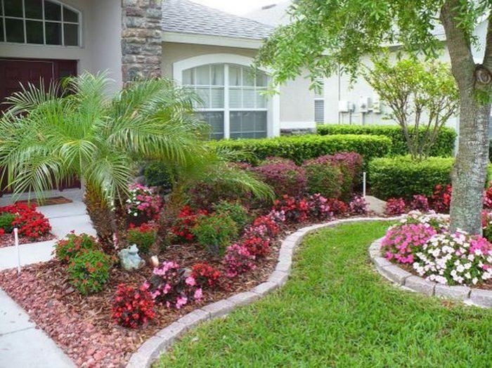 45 Awesome Florida Landscaping with Palm Trees Ideas ...