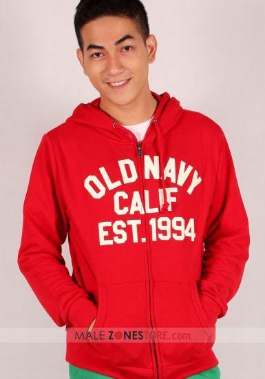 Jaket Hoodie Old Navy Merah MalezoneStore Indonesia