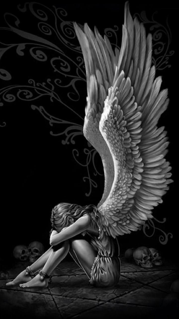 Pin on zedge - Sad angel wallpaper ...