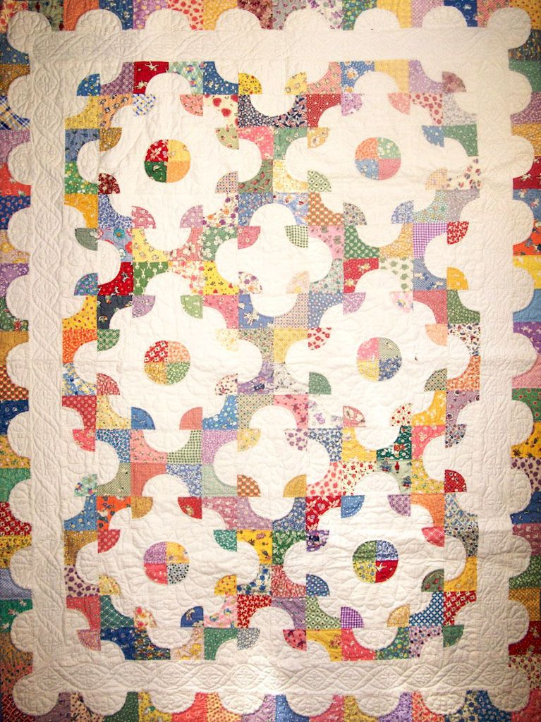 This Heart Quilt was made for my daughter, Emily, as a bride's ... : drunkards path quilt images - Adamdwight.com