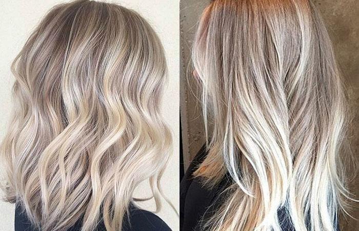 Окрашивание балаяж на светло- и темно-русые волосы средней ...