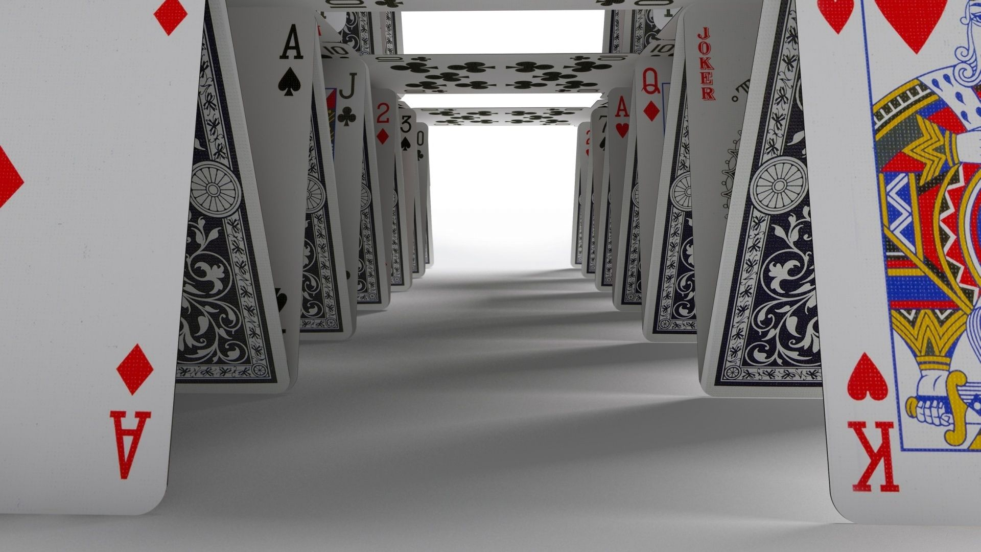 Play Cards Wallpaper House Games Casino