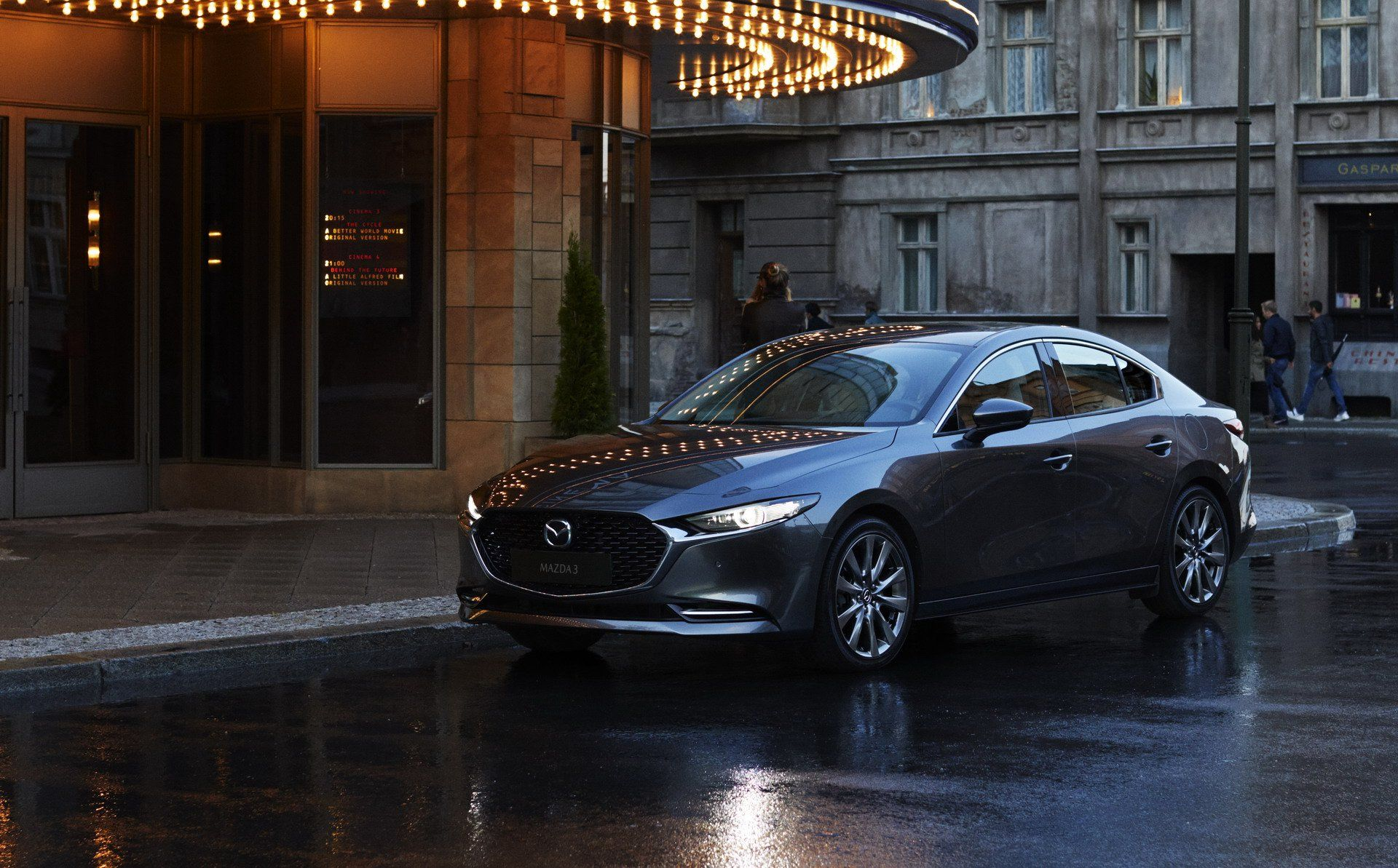 New 2019 Mazda3 Is Definitely A Looker See For Yourself In 68 Pictures Carscoops Mazda Sedan Car