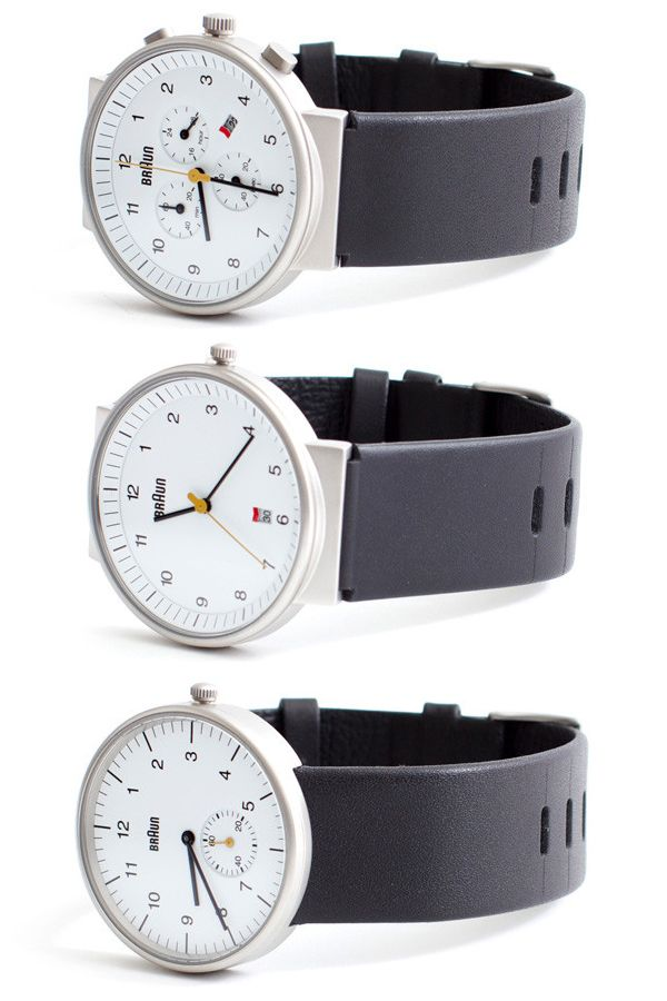 Vetted just dropped another batch of watches from Braun.