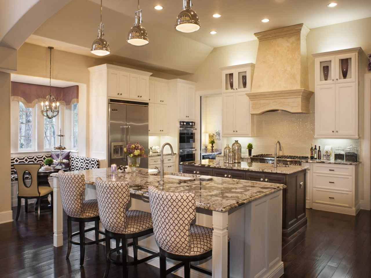 Open Kitchen Design With Large Island House Plans Home Plans With Large Kitchen Contemporary Kitchen Island Custom Kitchen Island Kitchen Island With Seating