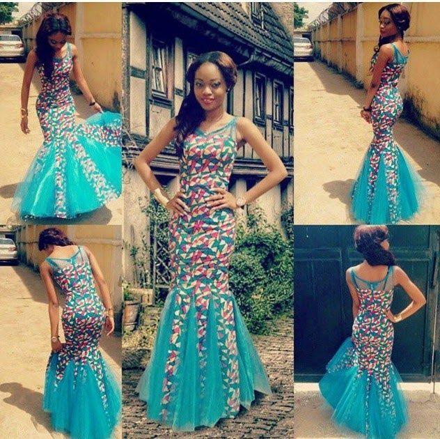 Ankara Gowns - Beautiful Stylish Long Ankara Gowns For Ladies http ...