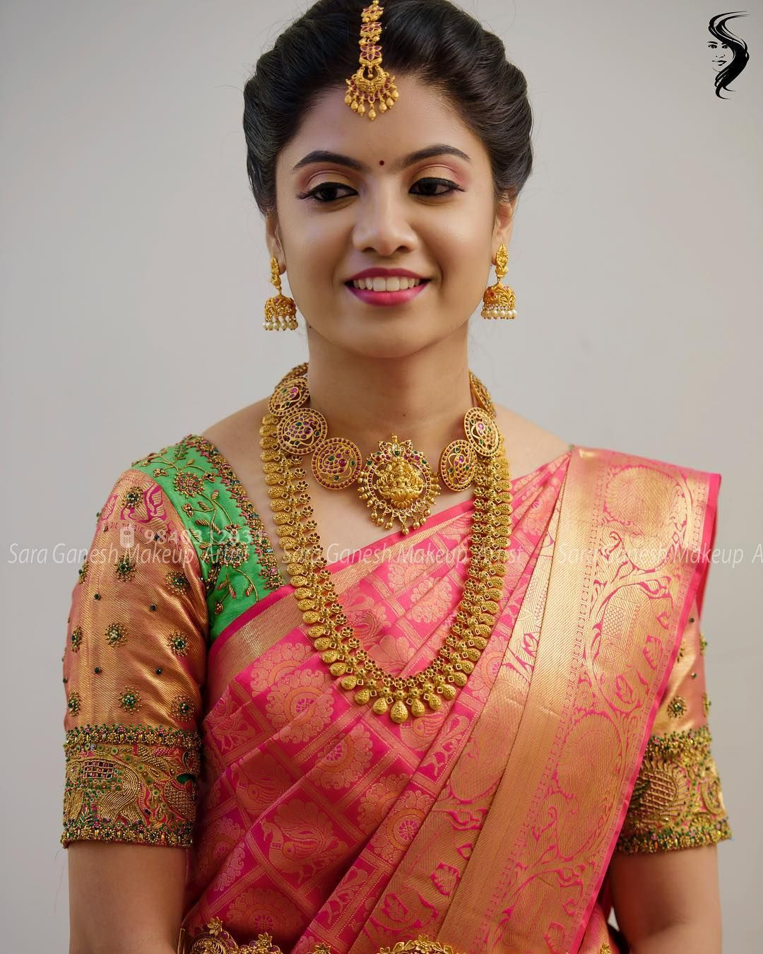 muhurtham look for my lovely bride rasika😊 for bridal