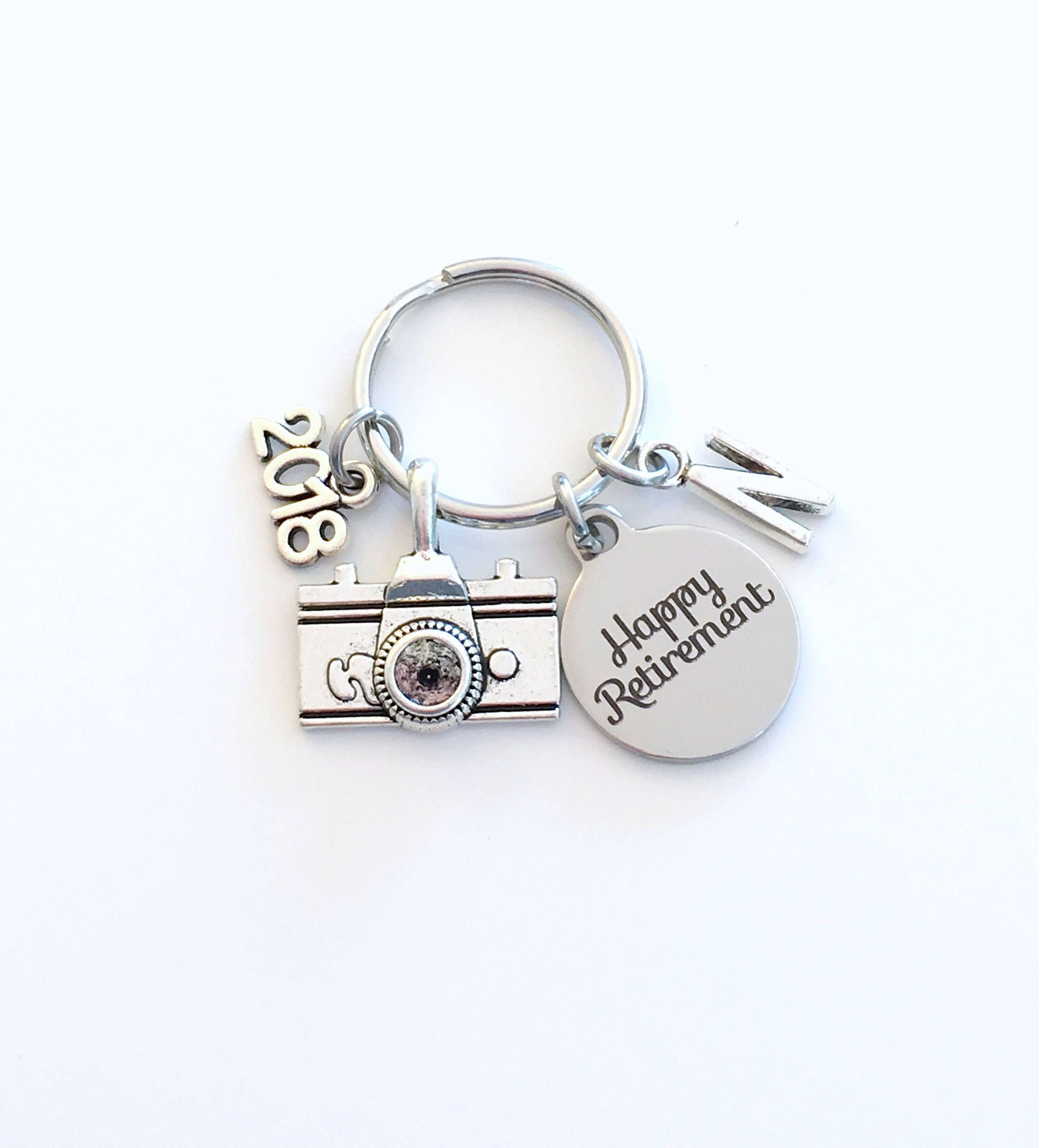 Retirement Gift For Photographer Keychain  Photo Technician