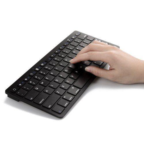 Sparin Ultra Slim Mini Bluetooth 3 0 Wireless Keyboard For Apple Ipad Air Ipad Mini Iphone Black Sp Apkb Bla Bluetooth Keyboard Keyboard Wireless Bluetooth