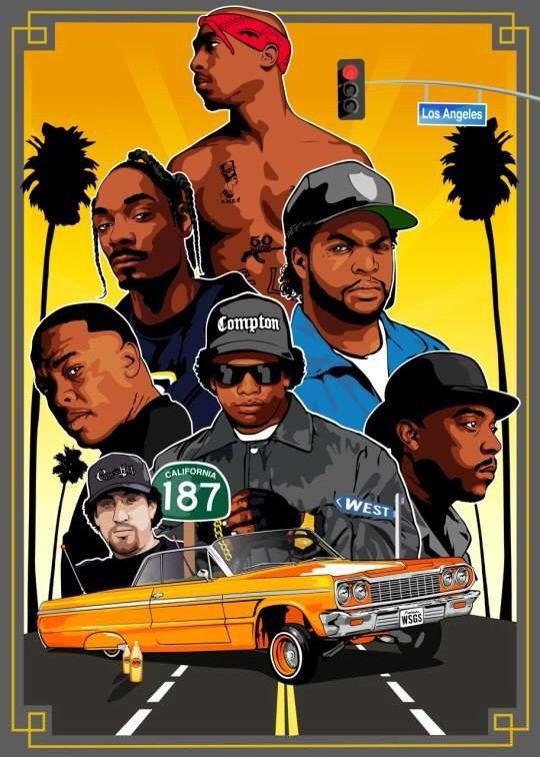 Vintage 90s Hip Hop Wallpaper