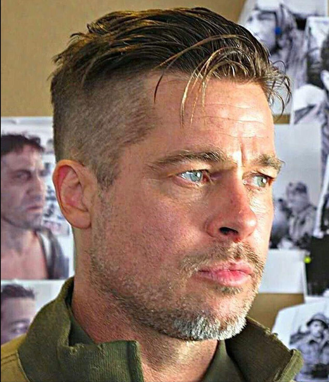 Pin By Sarah Kee On Brad Pitt Haircut Mens Hairstyles Undercut Fury Haircut Mens Hairstyles Short