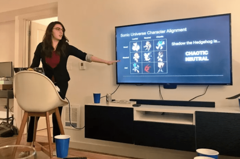 Party Where Each Guest Provides 3 Minute Powerpoint Presentation Is Actually Genius Powerpoint Powerpoint Presentation Party Theme