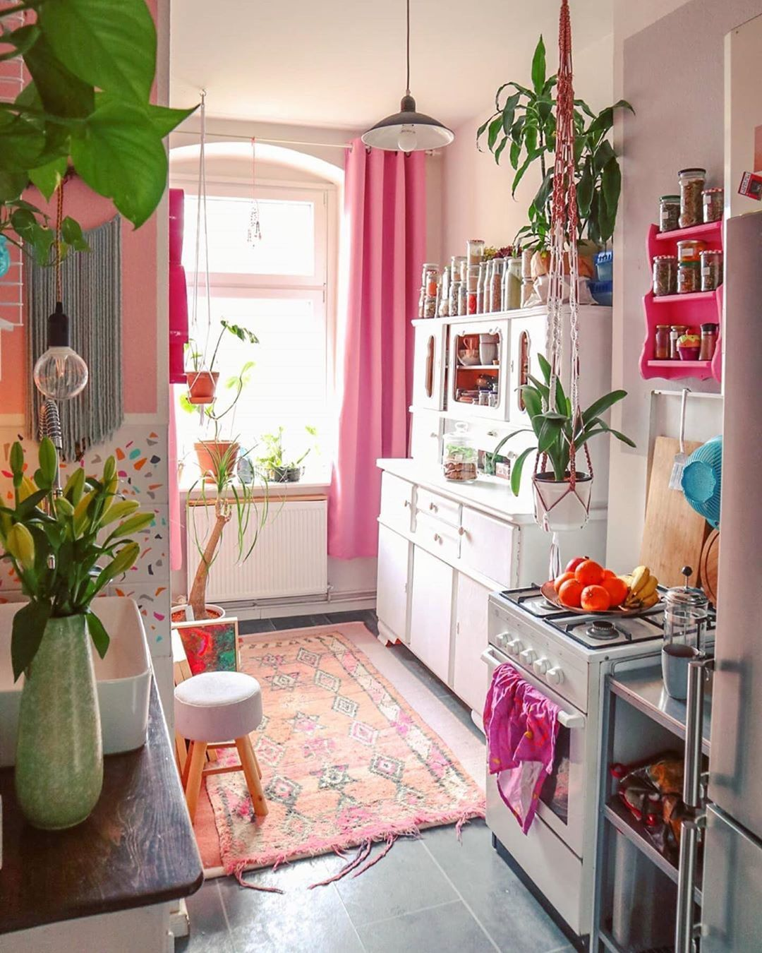 hippie tribe on instagram via my homely decor in love with this boho kitchen by on kitchen decor hippie id=29585