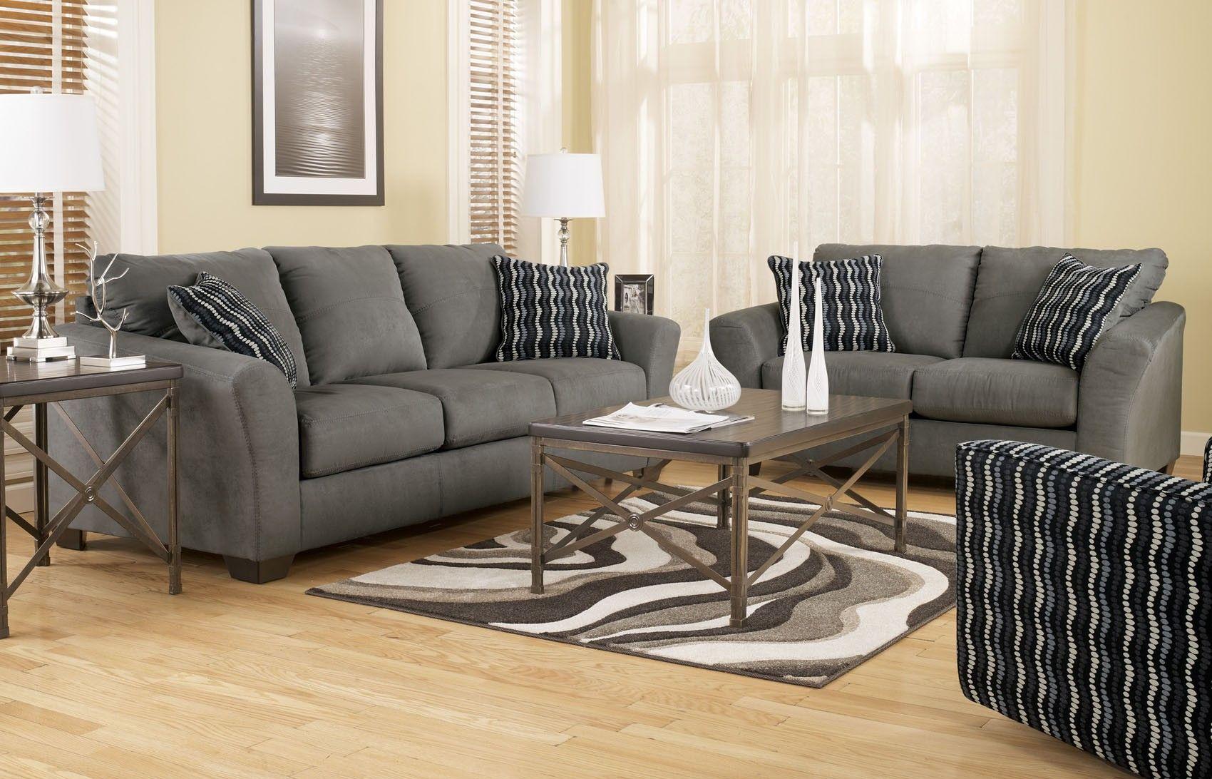 Lexi Cobblestone Sofa And Loveseat Set 7310338   Ashley Furniture 799