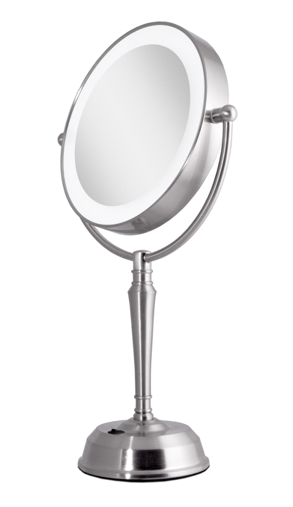 Zadro Lurv410 Led Lighted Vanity Mirror With Rechargeable Battery
