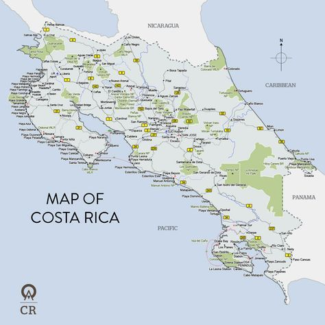 map of costa rica maps site w great activities to do while in costa rica costa rica pinterest costa rica travel usa and vacation ideas