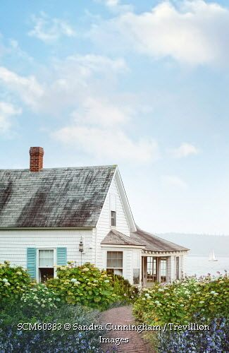 trevillion images summer cottage and flowers by the ocean my rh pinterest com cottages by the ocean ladghar cottages by the ocean nova scotia