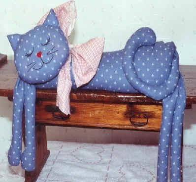 Manualidades en tela con gatos cat patchwork and softies - Manualidades con tela ...
