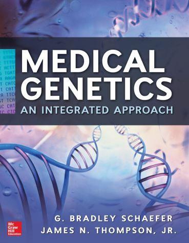Medical Genetics An Integrated Approach Genetics Medical Ebook