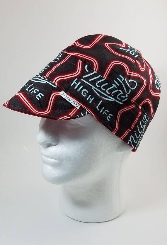 Custom Made Best Qualtiy Welders Cap. USA Made. Miller High Life Custom Welders  Hat Fitters Cap 8c1abcfa438