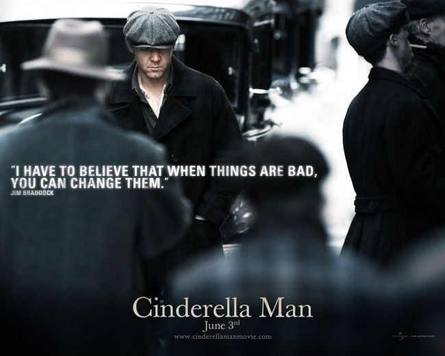 Cinderella Man Quotes One Of My Favorite Russell Crowe Movies.favorite Movie Quotes .