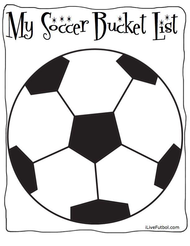 Soccer Bucket List Soccer Soccer Goal Portable Soccer Goals