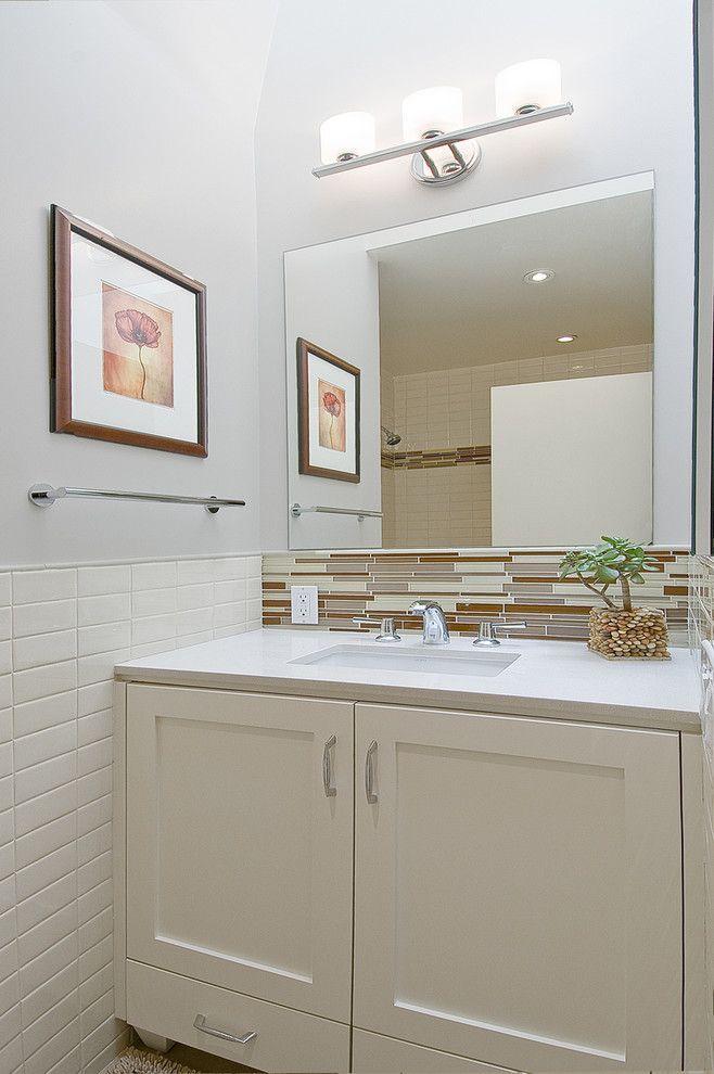 Half Bathroom Ideas - Make the most of a washroom's tiny ...