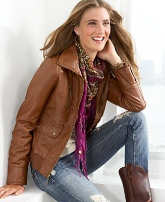 trendy leather jackets for women | Leather Jackets I Love ...