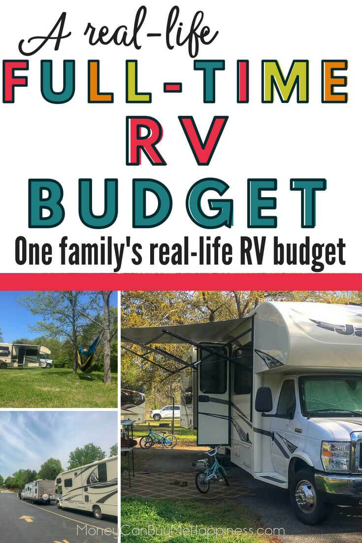 How Much Does RV Travel Cost? One Family's Full-Time RV Budget