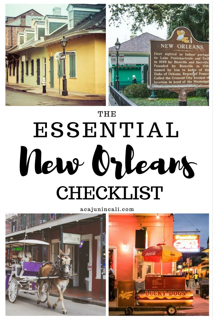 Grab your copy of the essential new orleans checklist for Things to do today in new orleans