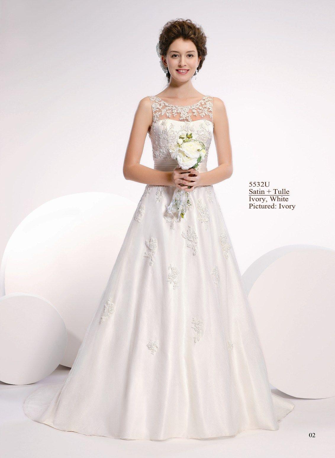 Bruidsjurk Kanten Lijfje Populaire Jurken Uit De Hele Wereld